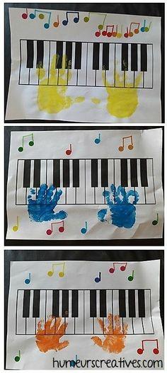 Preschool Music Activities, Preschool Arts And Crafts, Painting Activities, Crafts For Kids, Kids Diy, Leadership Activities, Group Activities, Toddler Art, Toddler Crafts