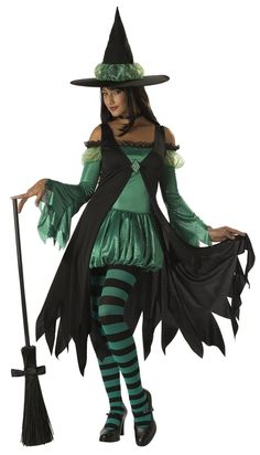 Get a classic look this Halloween with our collection of witch costumes. Find adult and kids witch costumes including sexy witch costumes and candy corn witch costumes! Witch Costume Adult, Deer Costume, Cowgirl Costume, Witch Costumes, Girl Costumes, Adult Costumes, Costume Ideas, Turtle Costumes, Pirate Costumes