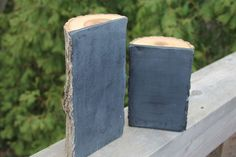 big and small - 2 wood chalkboards - made from a basswood log love it! Chalk Holder, Soap Display, Chalk It Up, Big And Small, Chalkboard Paint, Diy Hacks, Wood Crafts, Diys, Rustic