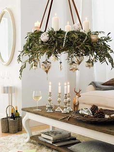 Noel Christmas, Simple Christmas, Christmas Wreaths, White Christmas, Christmas Ideas, Advent Wreaths, Christmas Greenery, Christmas Tables, Reindeer Christmas