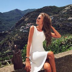 Classy Must Have Pieces Part 2 - Fashion Teenage Classy Casual, Classy Dress, Classy Outfits, Classy Clothes, White Casual, Classy Style, Classic White, How To Pose, Mode Vintage