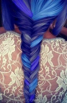 colorful hair on pinterest cotton candy hair blue hair