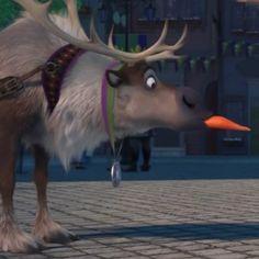 Sven, got the carrot