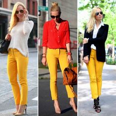 Great combinations with yellow mustard!!
