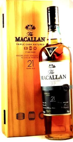 Macallan 21 Year Old Fine Oak - The Whisky Shop