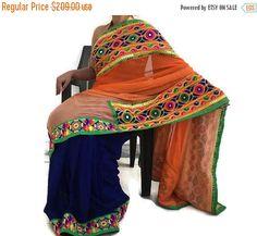 Indian Bollywood Saree designer sari ethnic Saree wedding Sarees handmade Saree with unstitched blouse-IDS10