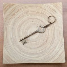 """Lucky magazine featured this keychain and said it had """"old-fashioned, Dickensian appeal."""""""