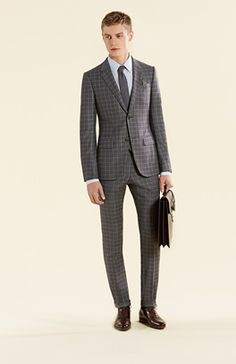 Gucci men's tailoring.