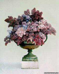 Lovely lilacs for a spring wedding