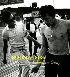 BROOKLYN GANG: BRUCE DAVIDSON- 1st Edition *SIGNED* PHOTOGRAPHY BOOK – NOMADCHIC $2500
