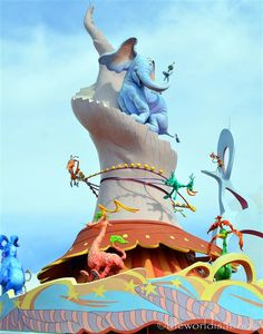 Wacky Seuss Landing at Universal Studios Florida. Get more ideas for #mayinorlando at www.MyFamilyTravels.com