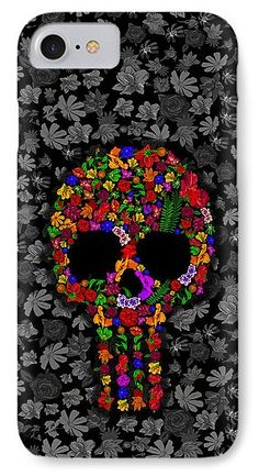 Floral Sugar Skull  Available for @pointsalestore #iphone7 #iphone7plus #iphone6 #iphone6plus #iphone6s #iphone6splus #iphone5 #iphone5s #iphone5c #iphone4 #iphone4s #galaxys7 #galaxys6 #galaxys5 #galaxys4 #sugarskulls #dayofthedead #mexico #mexican #indian #maya #nature #copper #sickness #zombies #engraved #carve #skulls #skullart #skullwork #thewalkingdead #diadelosmuertos #tattoo #tattooartist #photooftheday #halloween #scarry #haunted #horror #hauntedmansion #bodypaint