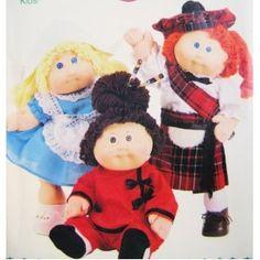 Scottish, Oriental, Dutch Outfits