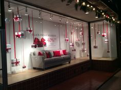 Black Friday Inspiration for Furniture Store display windows                                                                                                                                                                                 More