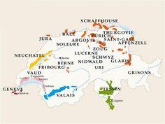 Wine area - Switzerland