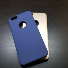 Apple iPhone 6G Plus / 6S Plus - Silicone With Hard Back Cover Case - 7.25$