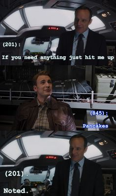 Texts From the Avengers - Pancakes