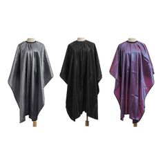 1Pcs Hair Cutting Gown Adult Salon Apron Capes Anti-Dirt Waterproof Hairdressing Convenient Barbers Wraps Styling Tools