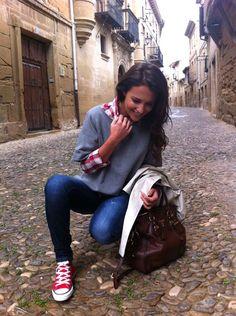 Look informal - Paula Echevarria