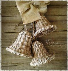 Подвески ручной работы. Ярмарка Мастеров - ручная работа. Купить Колокольчики Чудесные плетеные (связка 3 шт.). Handmade.