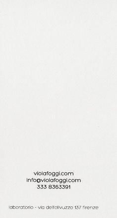 Viola Foggi - metallo d'autrice