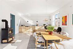 FINN – Majorstuen - Topp-/endeleilighet på 125 kvm, vestvendt balkong, arkitekttegnede løsninger, industrielle detaljer