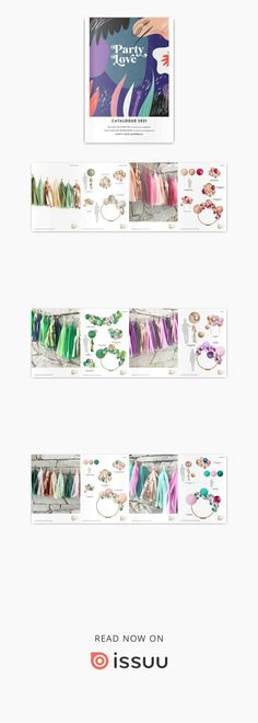 Party Decorations by Party Love Catalogue 2021