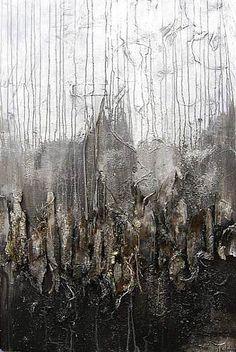 "Nele Kugler  ""The night tree"" Kunst Abstraktes Natur: Wald Gegenwartskunst"