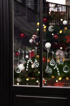 Make a Tea Advent Calendar Christmas Doodles, Christmas Drawing, Winter Christmas, Christmas Home, Vintage Christmas, Christmas Wreaths, Christmas Crafts, Christmas Bulbs, Christmas Jesus