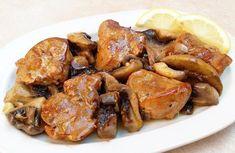 Ψαρονέφρι με μανιτάρια. Ψαρονέφρι με μανιτάρια και σάλτσα κάρυ... Greek Recipes, Keto Recipes, Cetogenic Diet, Chicken Wings, Food Processor Recipes, Grilling, Recipies, Pork, Food And Drink