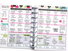 two weeks in The Happy Planner™ Fitness Planner of mambi Design Team member April Orr   me & my BIG ideas