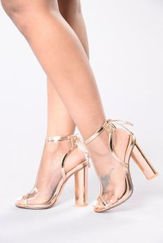 Belong To The City Heel - Rose Gold