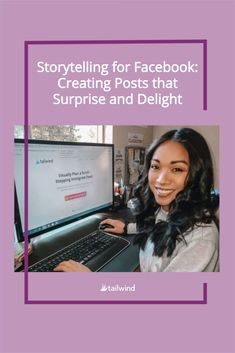 Storytelling is a key way to connect with your Facebook followers. Learn how to use this technique to make your posts come alive! Online Marketing Strategies, Marketing Tactics, Digital Marketing Strategy, Content Marketing, Social Media Marketing, Facebook Advertising Tips, Facebook Marketing, Facebook Followers, For Facebook