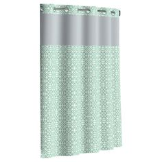 Flex-On by Hookless Medallion Shower Curtains