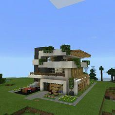 Minecraft Modern House HDDownload Clint Pinterest - Minecraft moderne hauser download