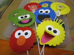 sesame street crafts