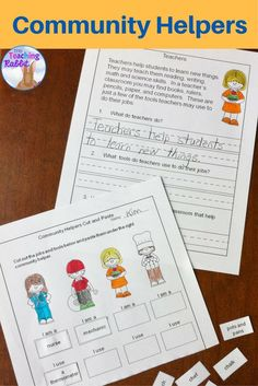 This resource for Grade 1 has reading comprehension passages, cut and paste activities, and a word search.
