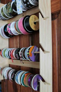 Handmade Ribbon Rail Ribbon Holder for by EasyMadeInvitations, $17.98