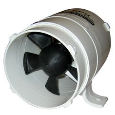 "Rule 240 4/""inch Diameter In-Line Blower for High Volume Air Flow Ventilation 12V"