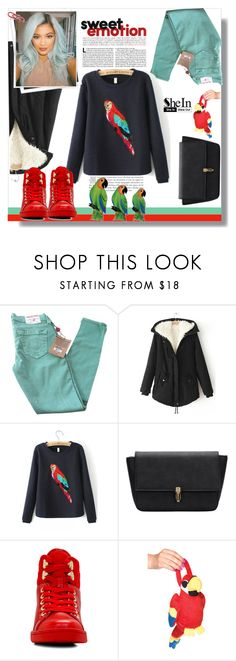"""""""SheIn #5 (III)"""" by cherry-bh ❤ liked on Polyvore featuring True Religion, GALA, ALDO, Leg Avenue, NOVICA, women's clothing, women's fashion, women, female and woman"""