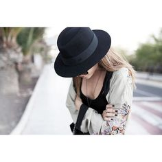 Now on afterDRK.com - @styleheroine in what I believe is the perfect hat @Maison Michel