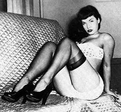 Bettie Page. Pin-up queen!