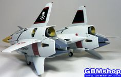 Macross Flashback 2012 VF-4 VF-4G Lightning III Hikaru Ichijo Custom Fighter Mode