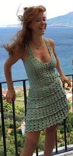 Vanessa Montoro - crochet dress