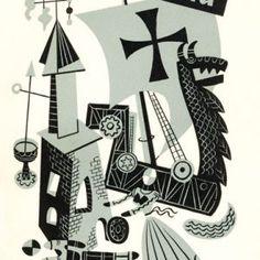 Coda   Jim Flora Jazz Poster, Columbia Records, Flora, Illustration, Art, Art Background, Kunst, Plants, Illustrations