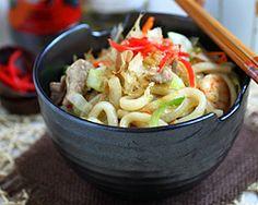 Udon Noodles | Yaki Udon
