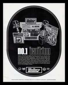 Mallory Ignition, 1974