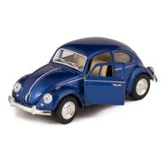 Blue 1967 Classic Die Cast Volkwagen Beetle Toy with Pull Back Action Kinsmart : via Amazon.com