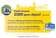EAACI (@EAACI_HQ) / Twitter Image Newsletter, Think On, Nobel Prize, Asthma, Pediatrics, Allergies, First Time, Twitter Sign Up, Clinic