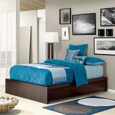 Dormitorios en Turquesa